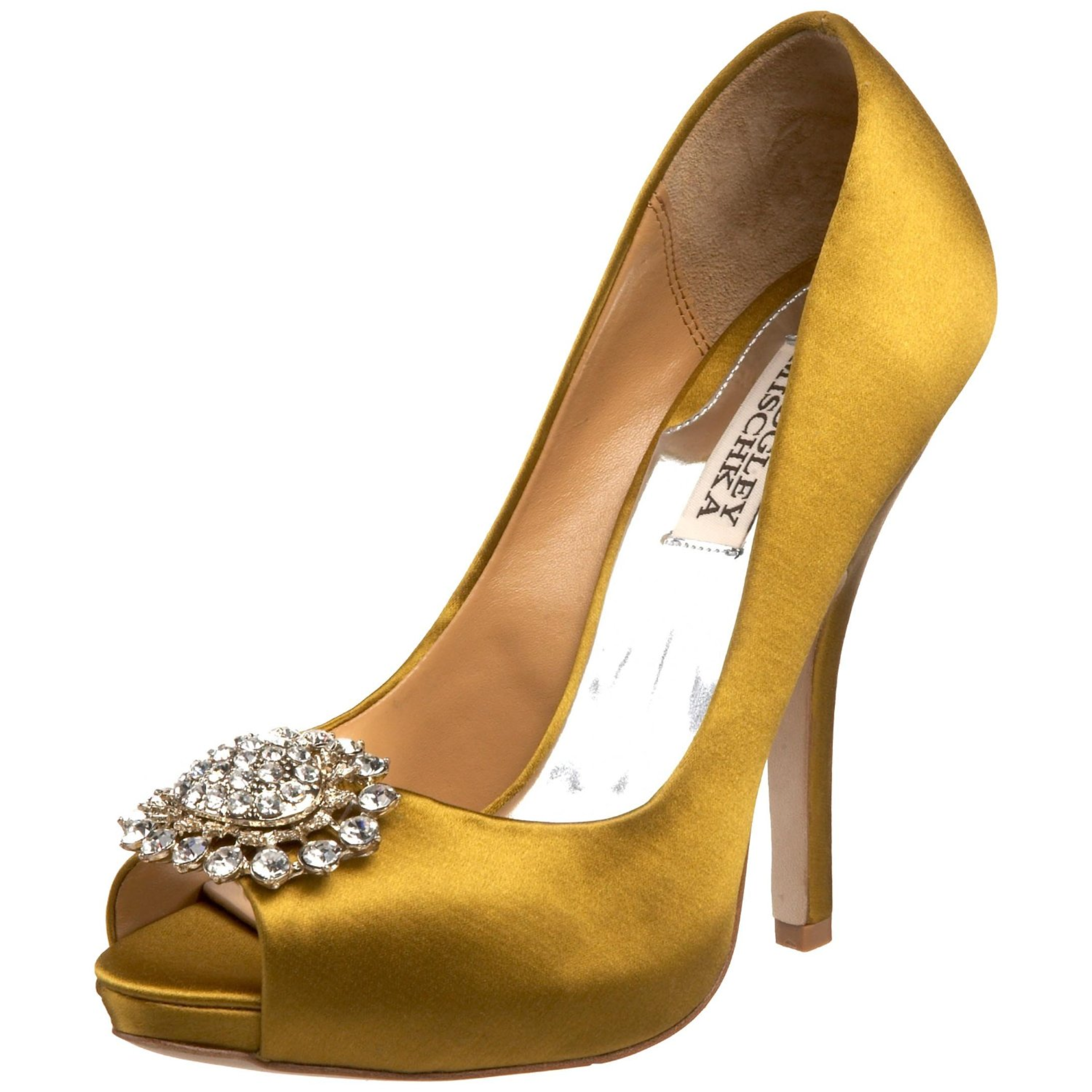 Designer Yellow Wedding Shoes