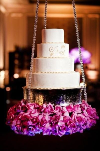 Suspended Wedding Cake Stand