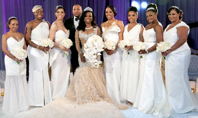 Celebrity weddings kandi and todd i do ghana for Coming to america wedding dress