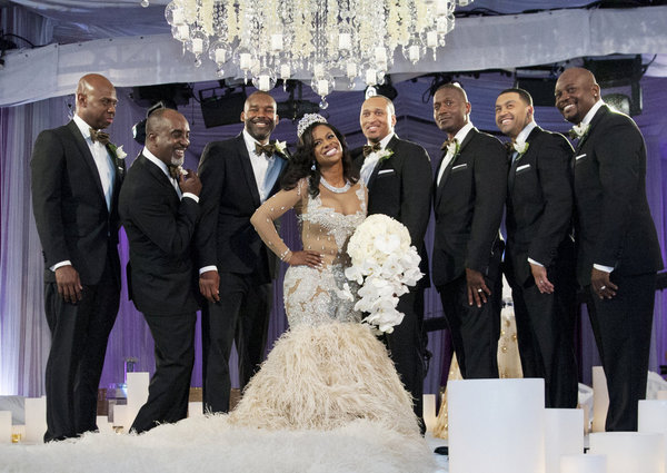 CELEBRITY WEDDINGS: Kandi And Todd