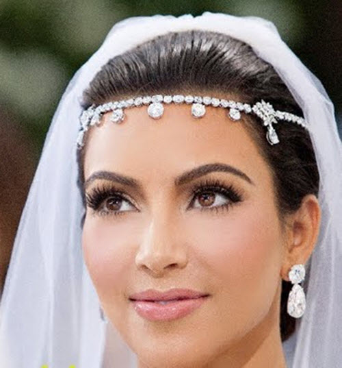 How to Kim Kardashian 2014 Wedding Make up