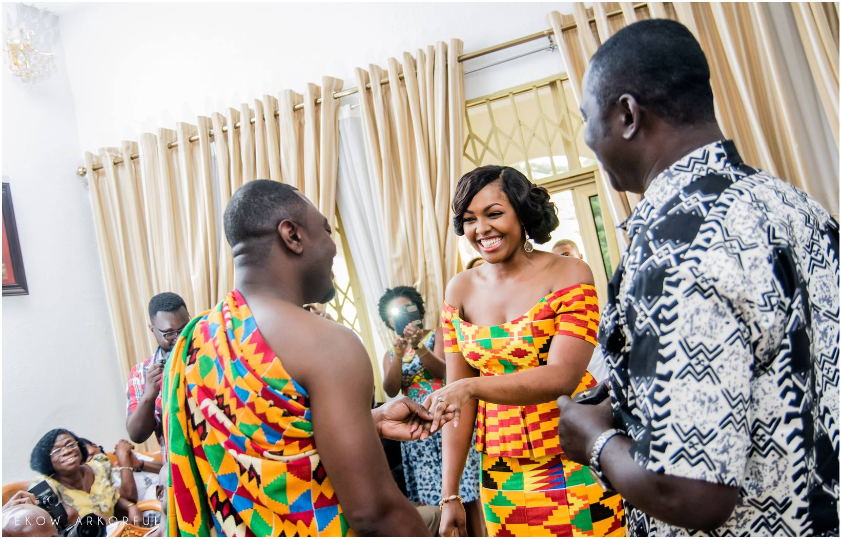 peter and victoria trad marriage ceremony � i do ghana
