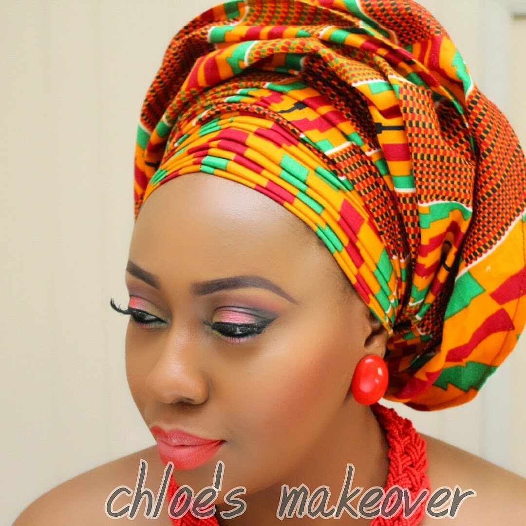 PARTY OWANBE INSPIRED MAKEUP LOOK BY CHLOES MAKEOVER