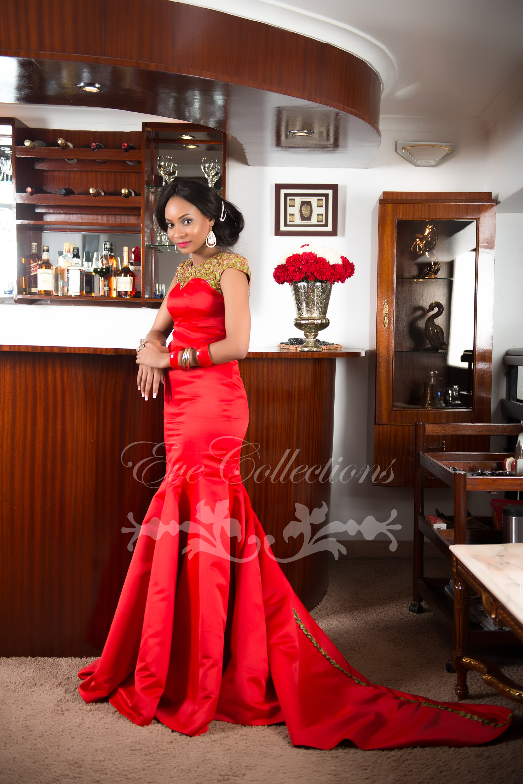 IN LOVE WITH RED EVE COLLECTIONS – I do Ghana