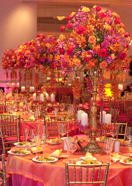 From kente to palettes pink yellow inspiration board - Yellow and orange wedding decorations ...