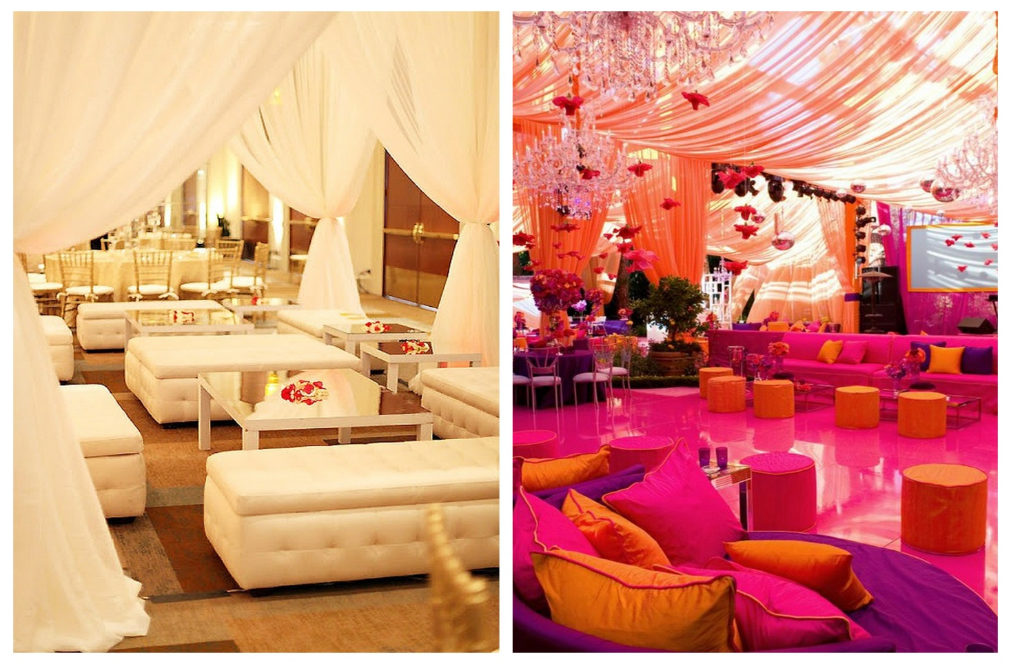 From kente to palettes pink yellow inspiration board for Pink and yellow wedding theme ideas