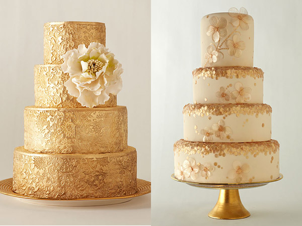 Cake Decorating Ideas For Golden Wedding : INSPIRED!!! 11 CAKES FOR YOUR CORAL THEMED WEDDING   I do ...