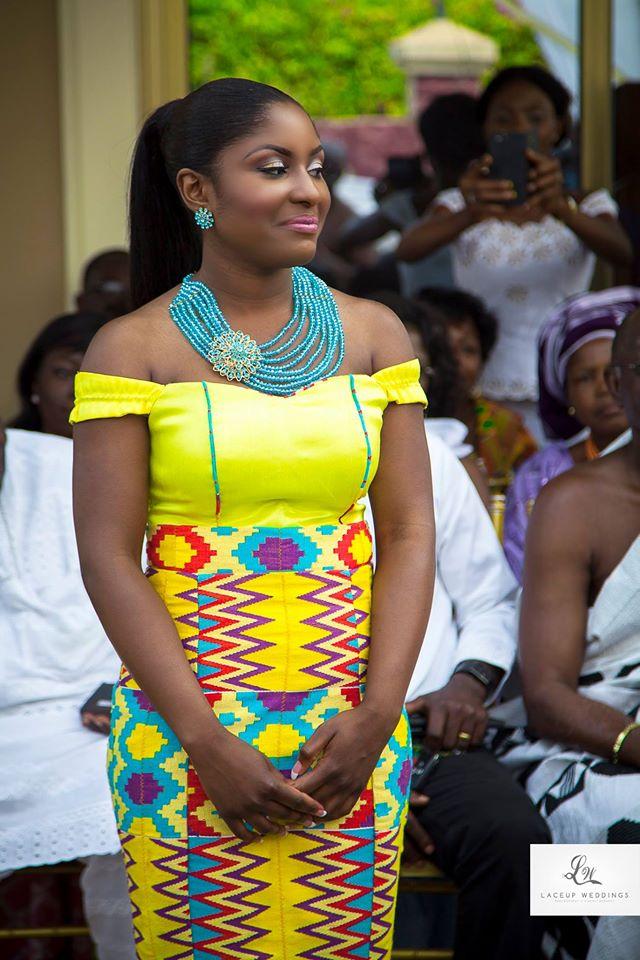 12 kente brides who broke the internet i do ghana