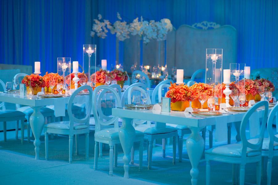 Wedding Decorations Blue And Orange : From kente to palettes orange and white wedding inspiration i do