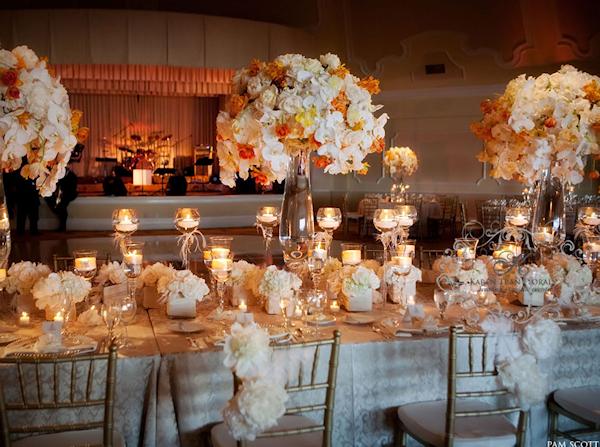 FROM KENTE TO PALETTES: ORANGE AND WHITE WEDDING INSPIRATION – I ...