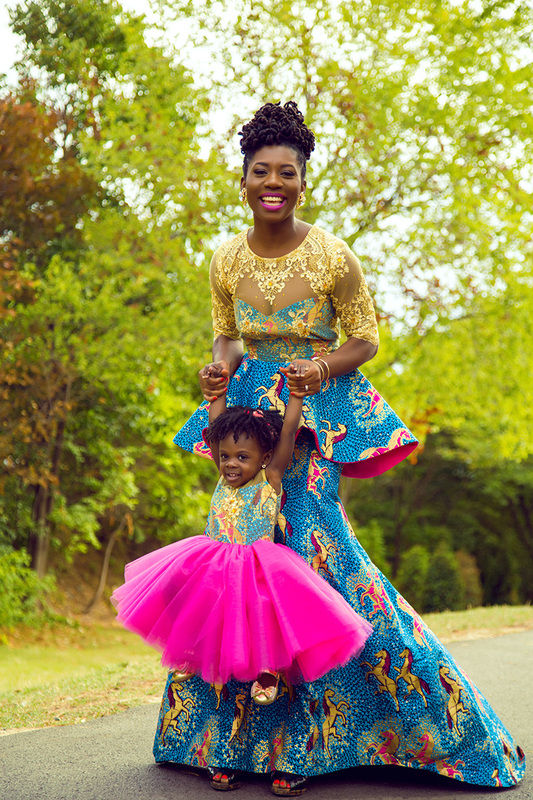 Mommy And Me Ntoma Fashion By Prissyville I Do Ghana