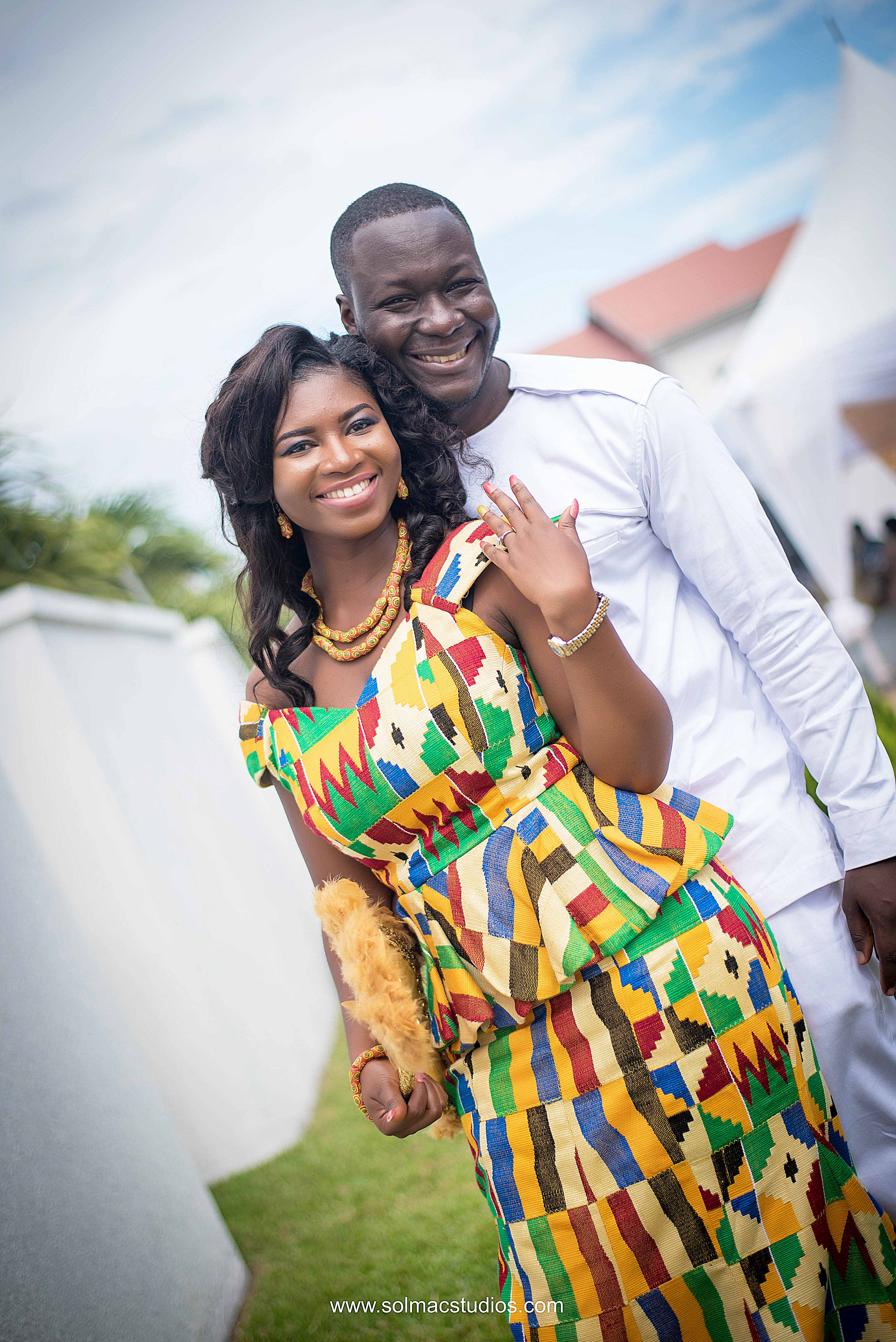 ebo amp jackie a trad wedding by solmac studios � i do ghana