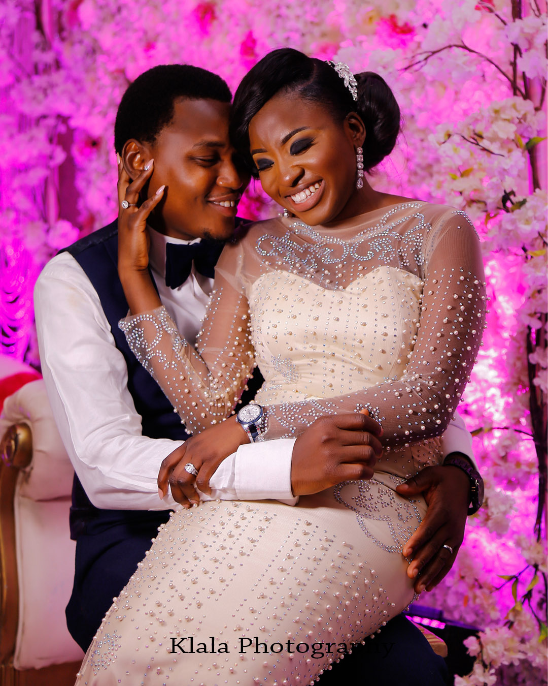 funke amp akinyemi a gorgeous nigerian wedding by klala