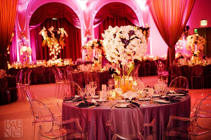 Modern Wedding Reception Decorations