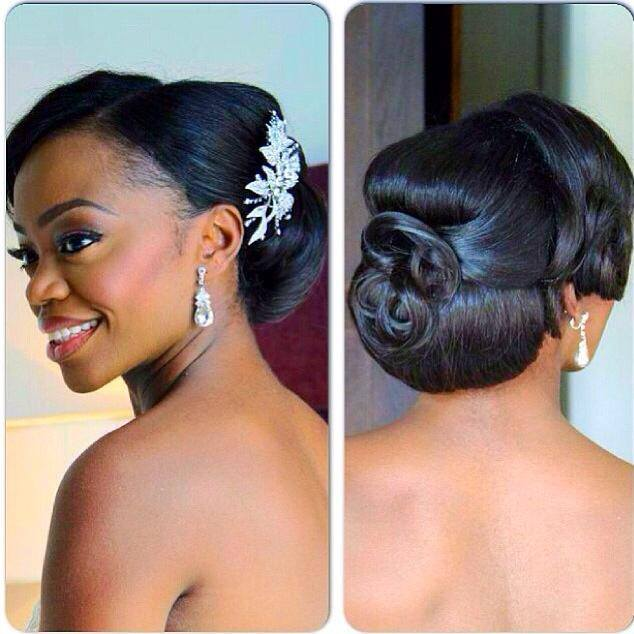 Wedding Hairstyles Ghana: Bridal Hair
