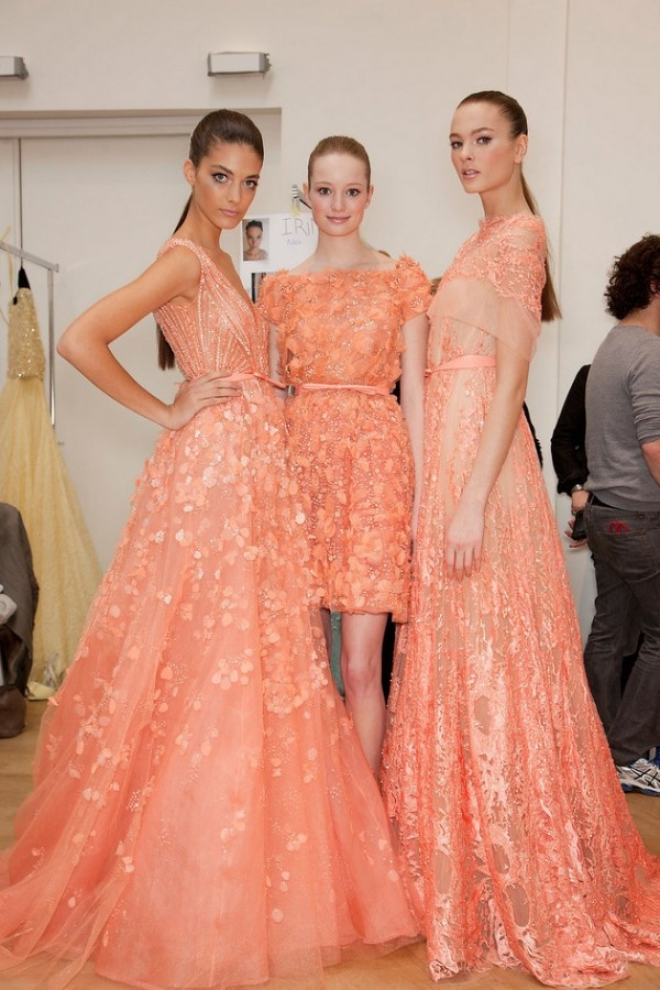 Coral Wedding Bridesmaid Dresses