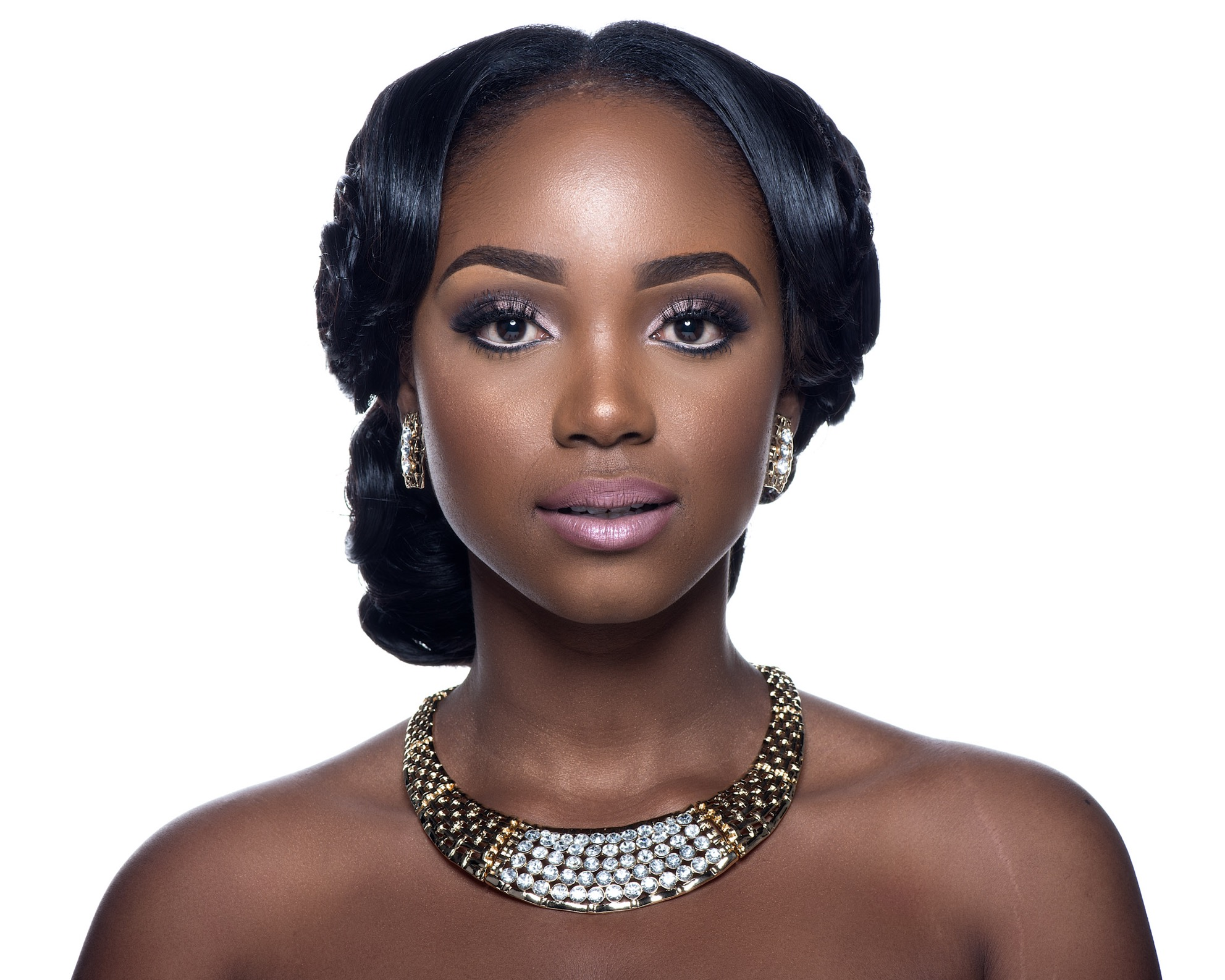 bridal hairstyle – i do ghana