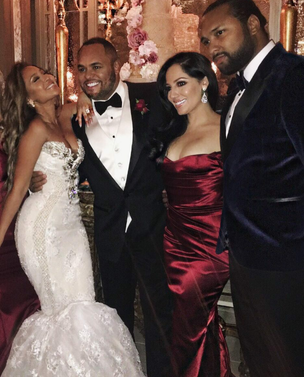 Adrienne Bailon Amp Israel Houghton Tie The Knot In A