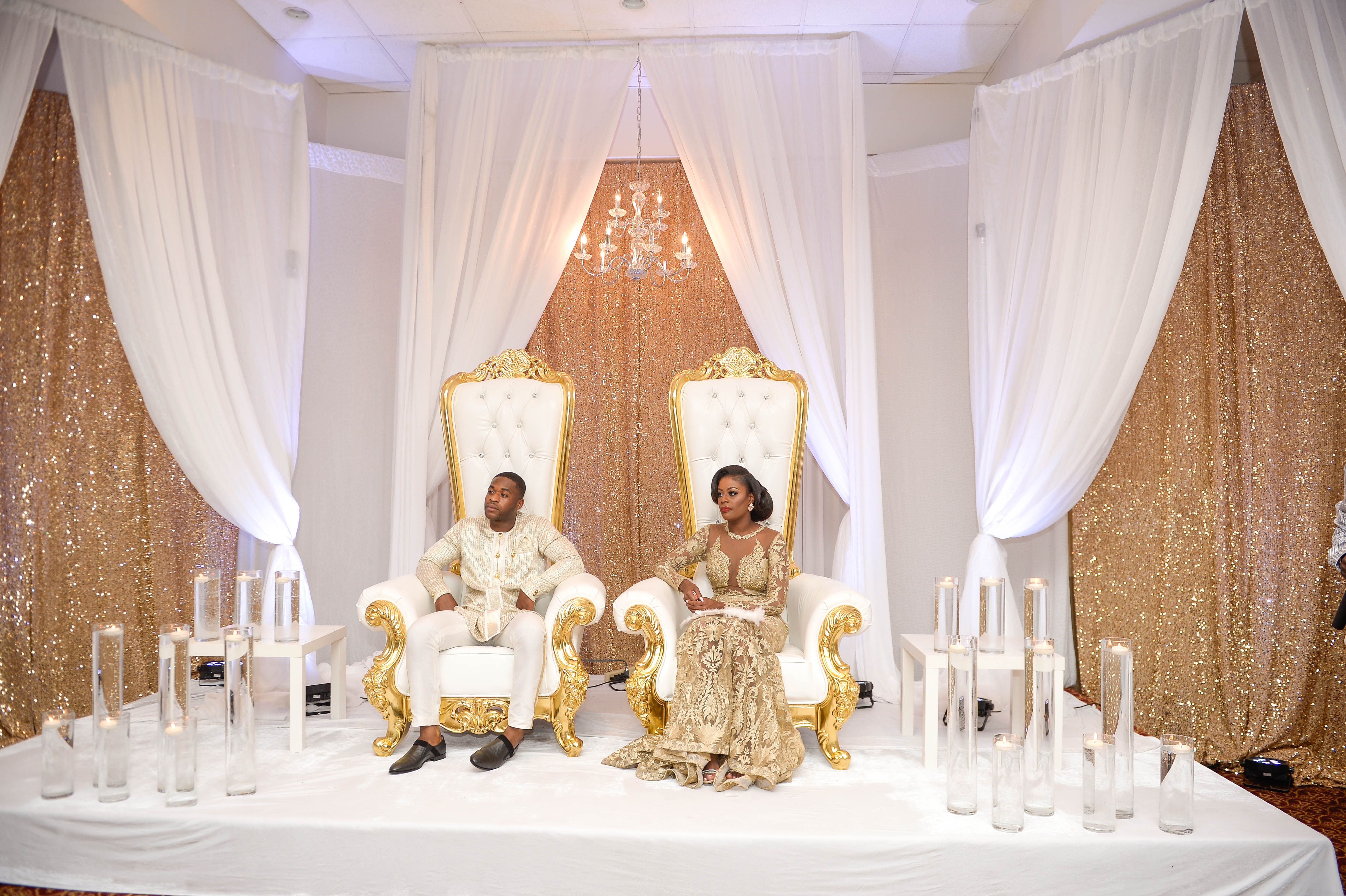 They Had Their Beautiful Coming To America Themed Traditional Marriage Ceremony On Saay July 23rd 2016 Infused With The Rich Ghanaian Culture